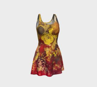 flare dress flowers preview