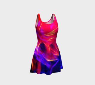 Electrified Dahlia Flare Dress preview