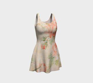Vintage Wallpaper Flare Dress preview