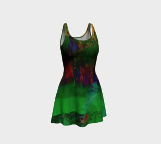 Dirty Girl Flare Dress |Ocdesignzz  preview