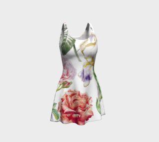 Aperçu de Sweet Vintage Shabby Chic Floral - Pink Rose