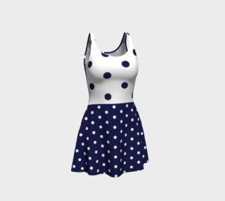 Navy dots preview
