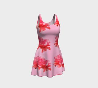 Floral and Rosy Pink Dress preview