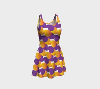 Purple and Yellow Colorful Dress preview