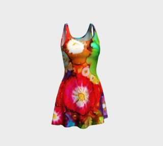 Shar's Posies Flare Dress preview