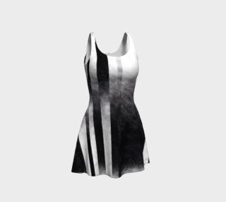 Charcoal Stripes Asymmetrical preview