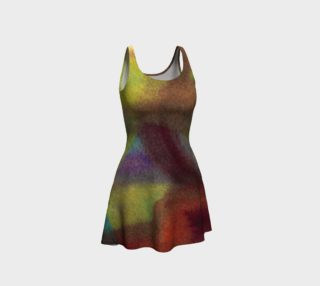 Tropical Watercolor Dress preview