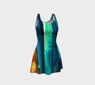 Watercolor Fashion Dress preview