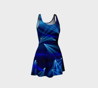 Becca Blue Starburst Dress aperçu