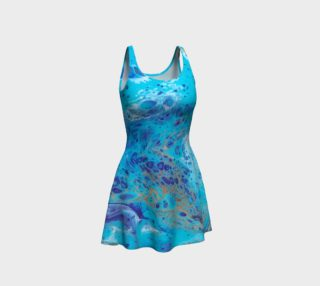 Aquarium Flare Dress preview