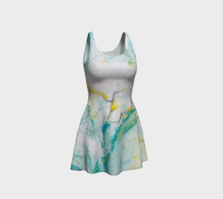 Bubbling Through Flare Dress preview