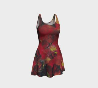 Midnight Blooms Flare Dress preview