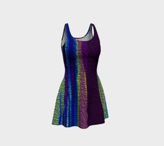Color Dance Flare Dress preview