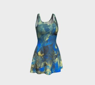 Flowers in the Sky Flare Dress preview