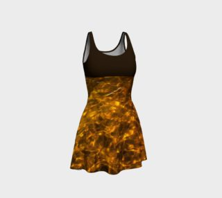 Shimmer Waters Flare Dress preview