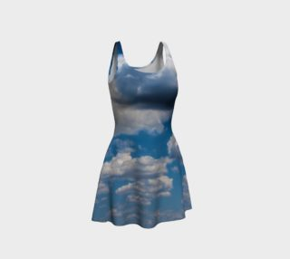 Heavenly Blue Flare Dress preview