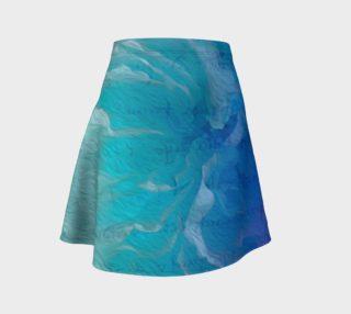 Aperçu de Blue I So Hope Flare Skirt