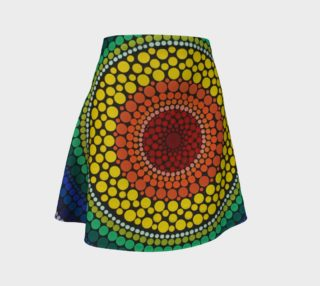 Rainbow Flare Skirt preview