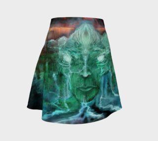 Vertex flare skirt preview