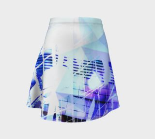 Cityscape Prisms Flare Skirt preview