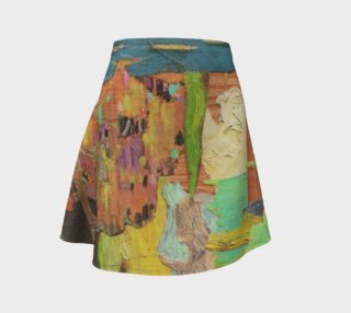 Reimagined Canadian Landscape Skirt preview