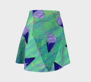 'Ice Cream Social' A-Line Skirt preview