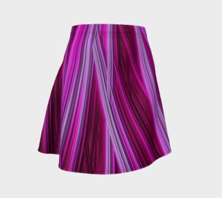 Pink Fractal 18 Flare Skirt preview