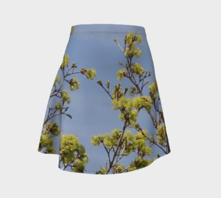Spring Greens A-Line Skirt preview