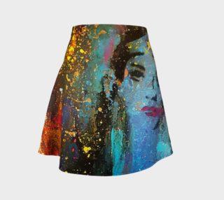 Chuck Redick Wonder Women Flare Skirt preview