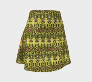 Yellow Nouveau Flare Skirt preview