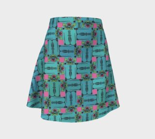 Charming Weave Flare Skirt preview