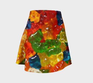 Gummy Bear Flare Skirt by Squibble Design preview