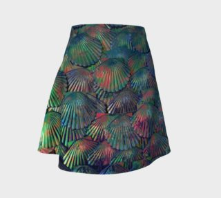 Opal Large-Scale Mermaid Skater Skirt preview