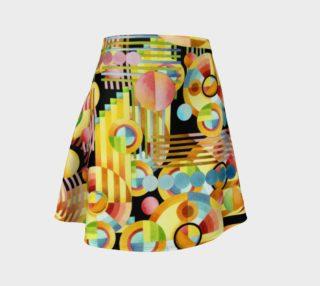 Aperçu de Art Deco Maximalist Flare Skirt