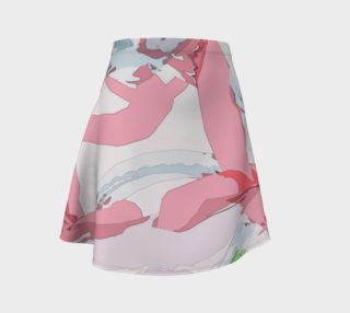 Virtual Reality Painted Pastel Skirt - HOLLIDAY preview