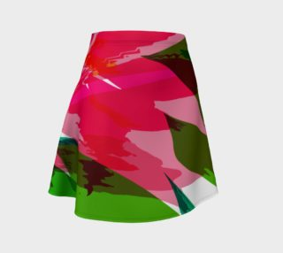 Virtual Reality Painted Flower Skirt - HOLLIDAY preview