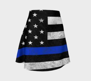 Aperçu de Those In Blue Flare Skirt