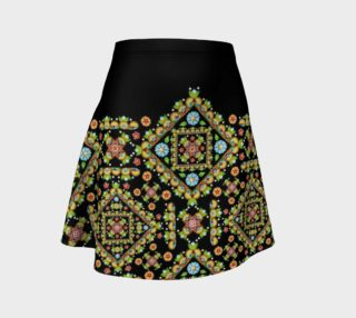 Cottage Garden Flare Skirt Placement preview