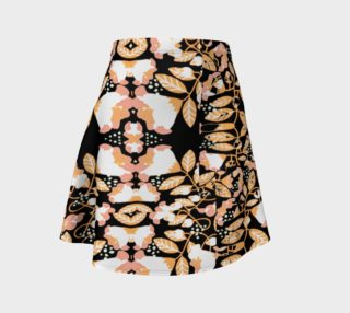 Perfectly Peachy summer breeze flare skirt preview
