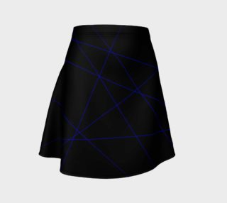 Blue Laser Flare Skirt preview