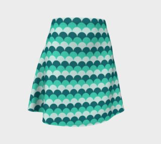 Mermaid Scales Flare Skirt preview