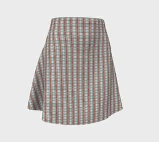 Classic Plaid Flare Skirt preview