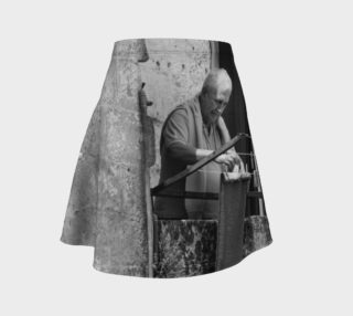 Utterly Italy Matera Man Flare Skirt preview