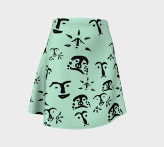 Mint Flare Skirt preview