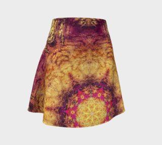 Aperçu de Indian mandala flare skirt2