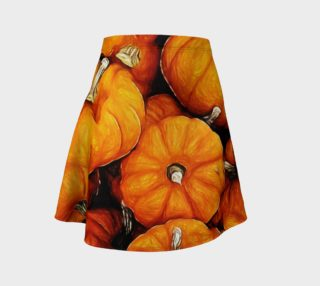 Tiny Pumpkins Flare Skirt preview