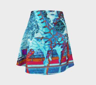 """""""Giraffe Skin"""" Flare Skirt preview"""