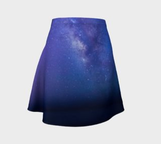 Milky Mystic Way Flare Skirt preview