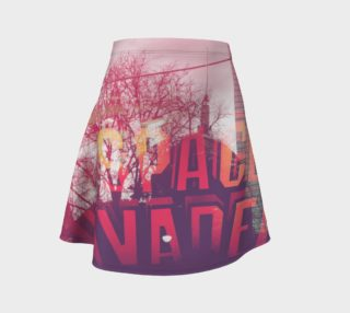 Space Invaders Flare Skirt preview
