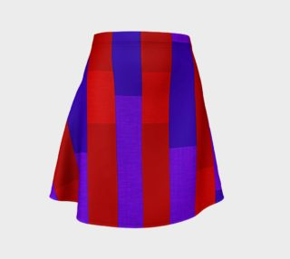 Aperçu de Just Stripes Flare Skirt